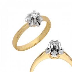 Złoty pierścionek PB89