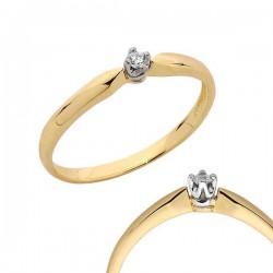Złoty pierścionek PB94
