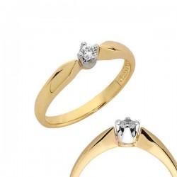 Złoty pierścionek PB103