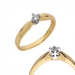 Złoty pierścionek PB106