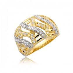 Pierścionek złoty P1713