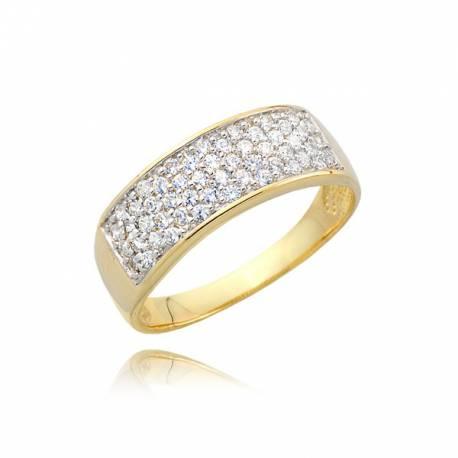 Złoty pierścionek P1701