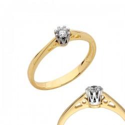 Złoty pierścionek PB122