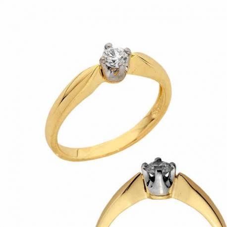 Złoty pierścionek PB123