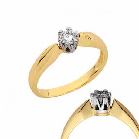 Złoty pierścionek PB125