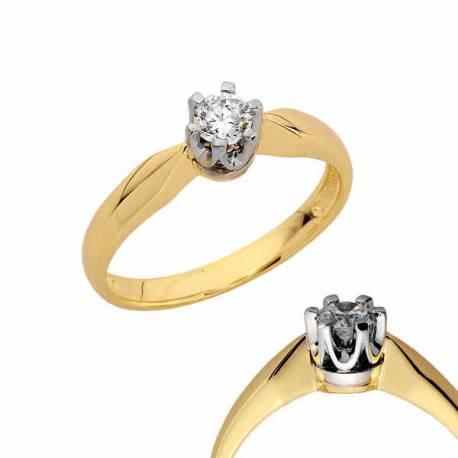 Złoty pierścionek PB134