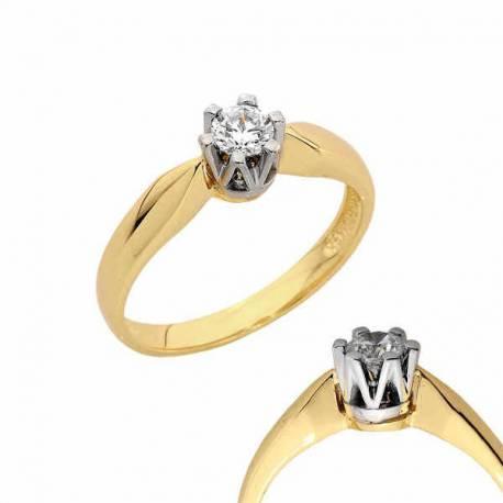 Złoty pierścionek PB135