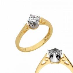 Złoty pierścionek PB138