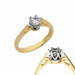 Złoty pierścionek PB139