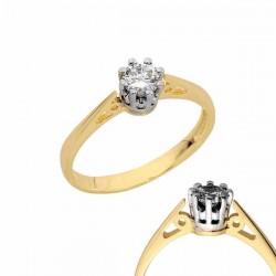 Złoty pierścionek PB141