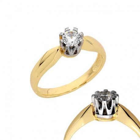 Złoty pierścionek PB147