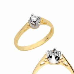Złoty pierścionek PB148