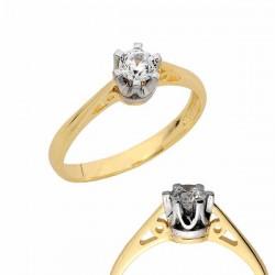 Złoty pierścionek PB149