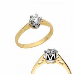 Złoty pierścionek PB150