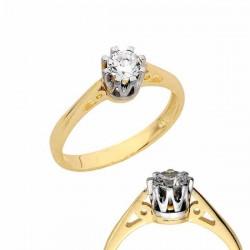 Złoty pierścionek PB152