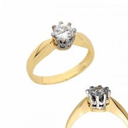 Złoty pierścionek PB156