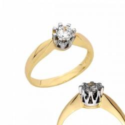 Złoty pierścionek PB157