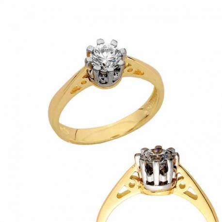 Złoty pierścionek PB161