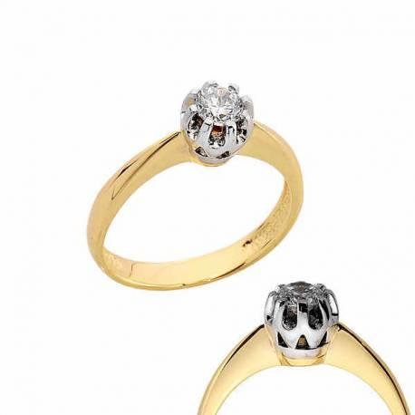 Złoty pierścionek PB167