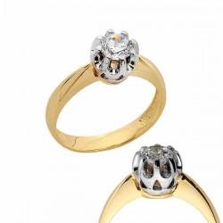 Złoty pierścionek PB169