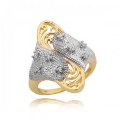 Złoty pierścionek P1645