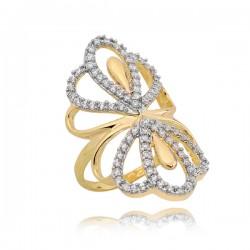 Złoty pierścionek P1641