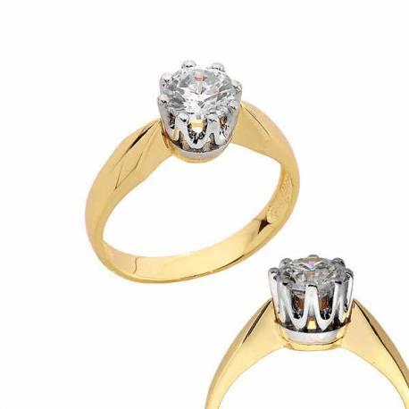 Złoty pierścionek PB180