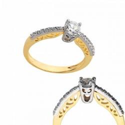 Złoty pierścionek PB182