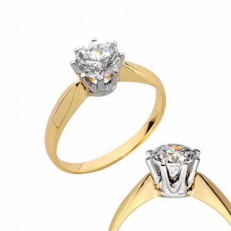 Złoty pierścionek PB184