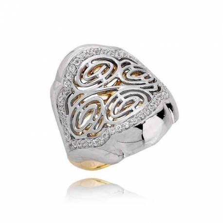 Złoty pierścionek PB189