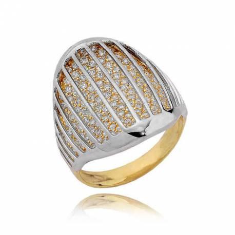 Złoty pierścionek PB191