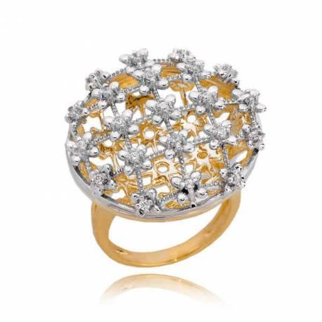 Złoty pierścionek PB195