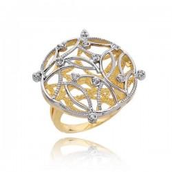 Złoty pierścionek PB199