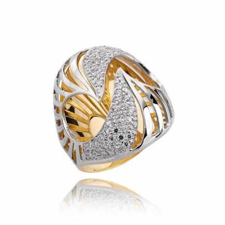 Złoty pierścionek PB202