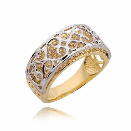 Złoty pierścionek PB203
