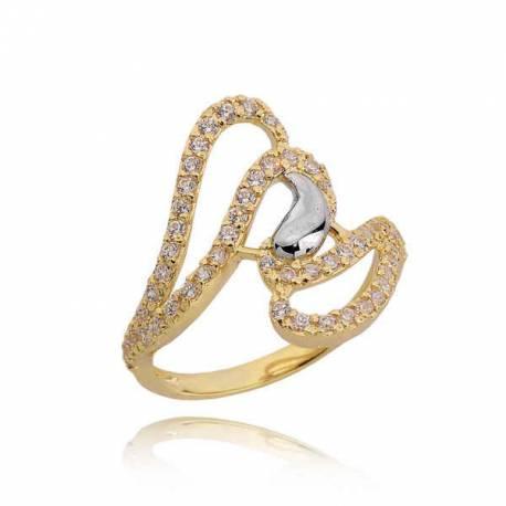 Złoty pierścionek PB206