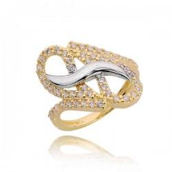 Złoty pierścionek PB207