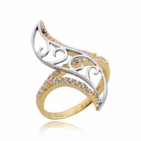 Złoty pierścionek PB209