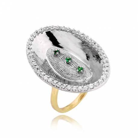 Złoty pierścionek PB215