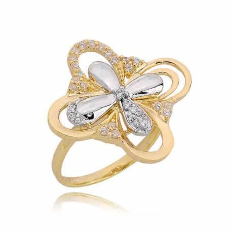Złoty pierścionek PB219