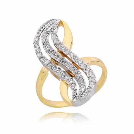 Złoty pierścionek PB220