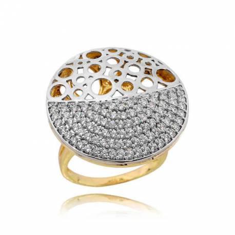 Złoty pierścionek PB221