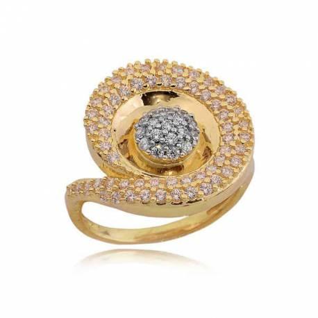Złoty pierścionek PB224