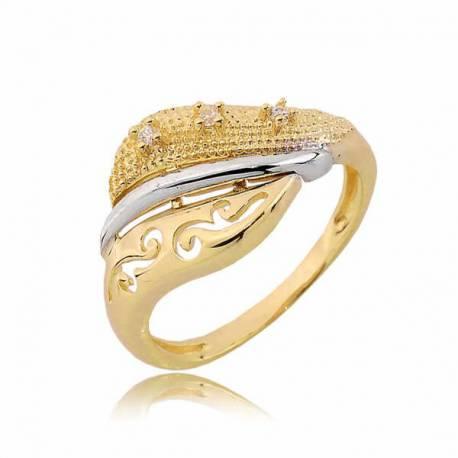 Złoty pierścionek PB235