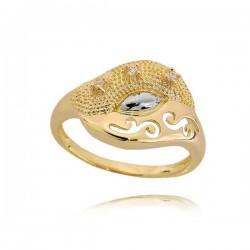 Złoty pierścionek PB236