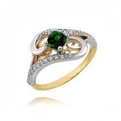 Złoty pierścionek PB237
