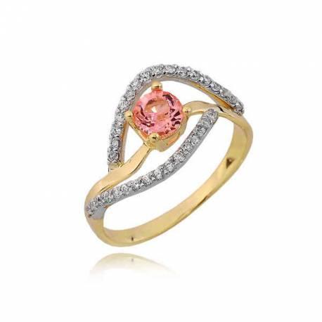 Złoty pierścionek PB238