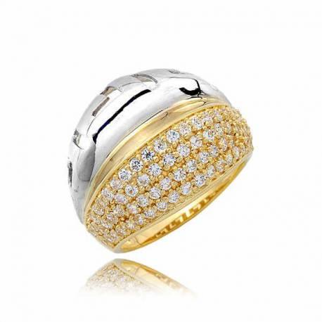 Złoty pierścionek PB249