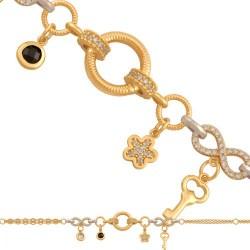Złota bransoleta 39470
