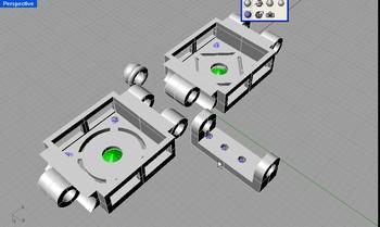 projekt 3d wax projekt bransoleta